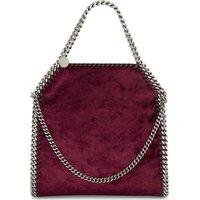 Mini Baby Bella velvet shoulder bag
