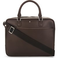 Montblanc Sartorial leather briefcase, Mens