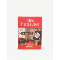 Office Pranks playing cards