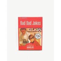 Bad Dad joke playing cards