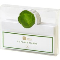 Botanical sprout place cards pack of 12
