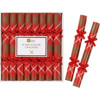 Botanical saucer crackers pack of eight