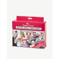 Festive family photo booth kit