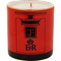 Post box filled candle