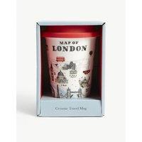 伦敦 陶瓷的 旅游 杯