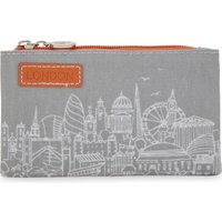 City skyline coin purse