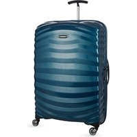 Samsonite Lite-Shock Spinner 75 four-wheel suitcase, Petrol blue