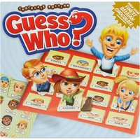 Chocolate Board Games Guess Who? Chocolate edition, Size: 1 Size