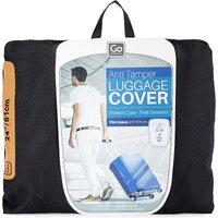 Anti-tamper luggage cover 24