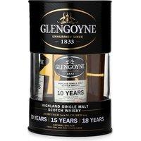 Glengoyne Mini drum whisky gift set 3 x 50ml