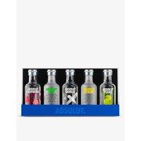 Absolut Flavoured vodka sampler gift set 5 x 50ml