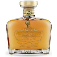 Gold Reserve 26-year-old whiskey 70cl