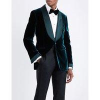 Shelton regular-fit velvet jacket