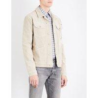 Stretch-cotton corduroy jacket