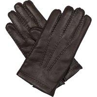 Full-grain nappa leather gloves