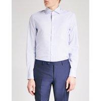 Diagonal Stitch tailored-fit cotton shirt