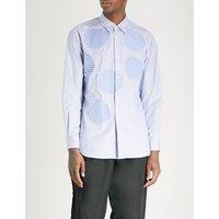 拼凑物 定期-适合 棉-府绸 衬衫