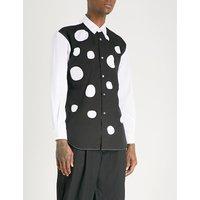 二-音 定期-适合 棉-府绸 衬衫
