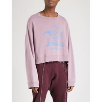 Human Control System cotton-jersey sweatshirt