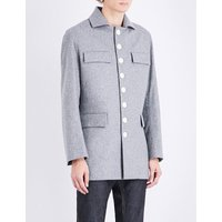 Archer Safari wool coat