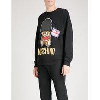London Bear cotton-jersey sweatshirt