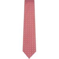 Brioni Flower tie silk tie, Mens, Red