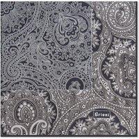 Floral-paisley silk pocket square