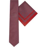 Diamonds silk tie & pocket square