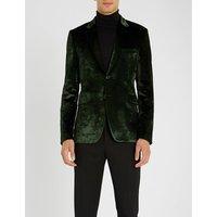 Kensington velvet jacket