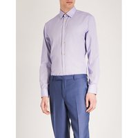 Bengal striped slim-fit cotton shirt