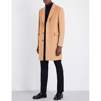 Paul Smith Camel Vibrant Modern Coat, Size: 36