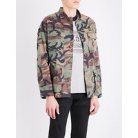 Airborne camouflage cotton jacket