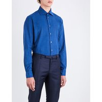 Contemporary-fit corduroy shirt