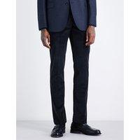 Slim-fit corduroy trousers