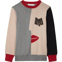 Lucky knitted cotton jumper 4-16 years