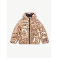 Metallic puffer jacket 4-16 years