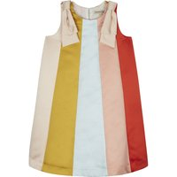 Vertical stripes dress 4-10 years