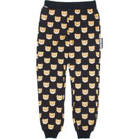 Teddy bear stretch-cotton jogging bottoms 4-14 years