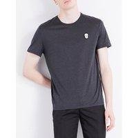 Alexander Mcqueen Skull-detail cotton-jersey T-shirt, Mens, Size: S, Grey