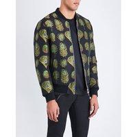 Peacock jacquard jacket