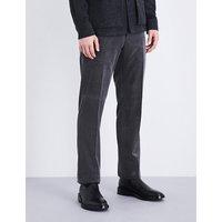 Regular-fit corduroy trousers