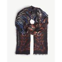 Butterfly Metamorphosis silk scarf