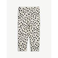 Spot print cotton-blend leggings 0-18 months