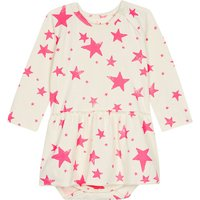 Star cotton dress 0-12 months