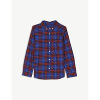 Check cotton flannel shirt 4-14 years