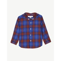 Fred checked cotton shirt 6-36 months