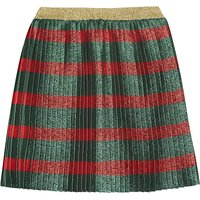 Lurex striped skirt 4-12 years