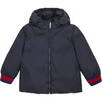 Reversible nylon puffer jacket 9-36 months