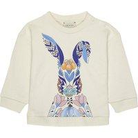 Flower bunny cotton sweatshirt 6-36 months