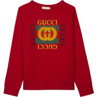 'GG' logo cotton sweatshirt 4-12 years